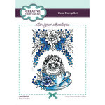 Creative Expressions - Designer Boutique Collection - Clear Photopolymer Stamps - Time For Tea