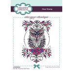 Creative Expressions - Designer Boutique Collection - Clear Photopolymer Stamps - Owl Be There For Twit Twoo