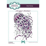 Creative Expressions - Designer Boutique Collection - Clear Photopolymer Stamps - Jellyfish Blooms