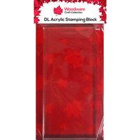Creative Expressions - Woodware DL Acrylic Block - Slimline