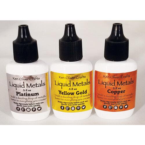Ken Oliver - Liquid Metals - Heavy Metals - 3 Pack