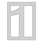 The Crafter's Workshop - Die Cutting Template - Number 1