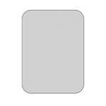 The Crafter's Workshop - Die Cutting Template - 3 x 4 Blank