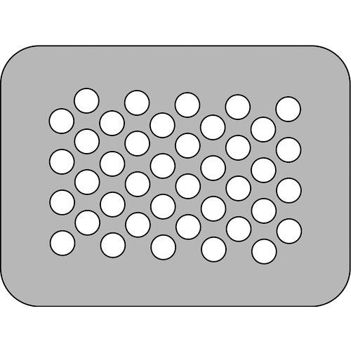 The Crafter's Workshop - Die Cutting Template - 3 x 4 Medium Dot