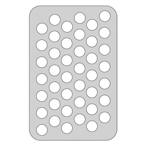 The Crafter's Workshop - Die Cutting Template - 4 x 6 Dots