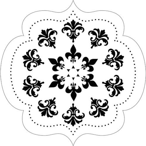 The Crafter's Workshop - 12 x 12 Doodling Templates - Elegant Bracket