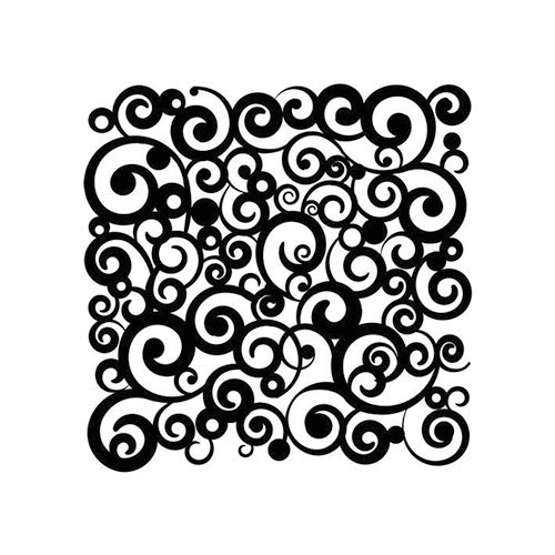 The Crafter's Workshop - 6 x 6 Doodling Templates - Cosmic Swirl