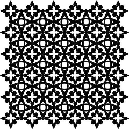 The Crafter's Workshop - 12 x 12 Doodling Templates - Arabesque