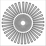 The Crafter's Workshop - 6 x 6 Doodling Templates - Sunburst