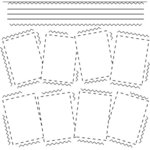 The Crafter's Workshop - 12 x 12 Doodling Templates - Snapshots, CLEARANCE