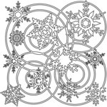 The Crafter's Workshop - 12 x 12 Doodling Templates - Winter Wonderland