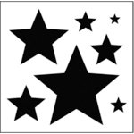 The Crafter's Workshop - 12 x 12 Basic Templates - Stars