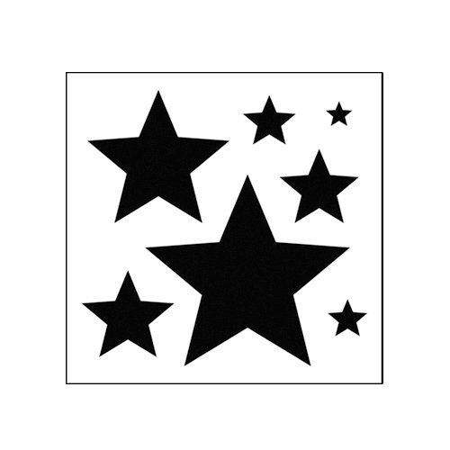 The Crafter's Workshop - 6 x 6 Basic Templates - Mini Stars