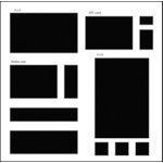 The Crafter's Workshop - 12 x 12 Basic Templates - Rectangles