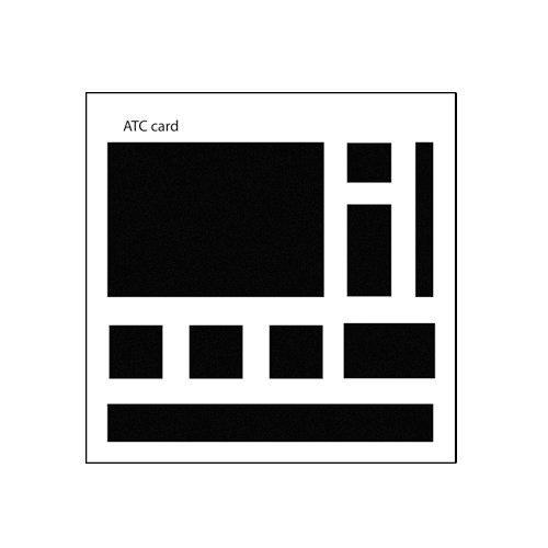 The Crafter's Workshop - 6 x 6 Basic Templates - Mini Rectangles