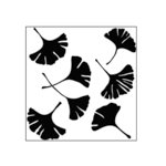 The Crafter's Workshop - 6 x 6 Doodling Templates - Mini Ginkgo Leaves