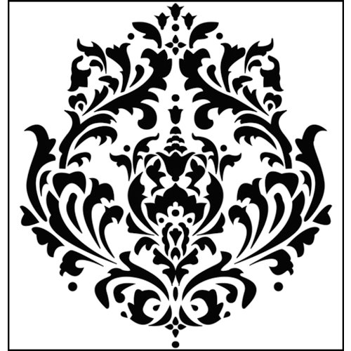 The Crafter's Workshop - 12 x 12 Doodling Templates - Brocade
