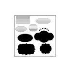 The Crafter's Workshop - 6 x 6 Doodling Templates - Mini Journaling Blurbs