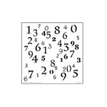 The Crafter's Workshop - 6 x 6 Doodling Templates - Mini Numerals
