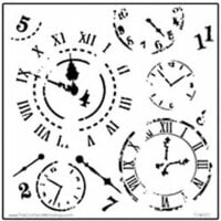 The Crafter's Workshop - 12 x 12 Doodling Templates - Time Travel