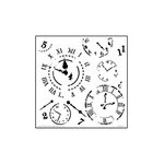 The Crafter's Workshop - 6 x 6 Doodling Templates - Mini Time Travel