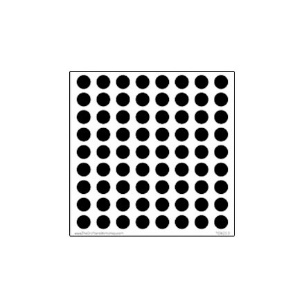 The Crafter's Workshop - 6 x 6 Doodling Templates - Mini Circle Grid