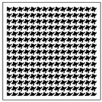 The Crafter's Workshop - 12 x 12 Doodling Templates - Houndstooth
