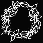 The Crafter's Workshop - Balzer Bits - Doodling Template - Flower Frame