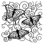 The Crafter's Workshop - 12 x 12 Doodling Templates - Flutterby