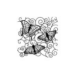 The Crafter's Workshop - 6 x 6 Doodling Templates - Mini Flutterby