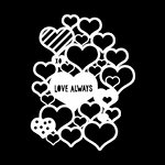 The Crafter's Workshop - Rhonda's Fragments - Doodling Template - Love Always Fragments