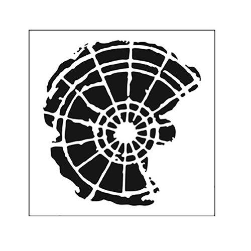 The Crafter's Workshop - Rebekah's Remnants - Doodling Template - Radar Remnant