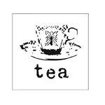 The Crafter's Workshop - Rebekah's Remnants - Doodling Template - Teatime Remnant