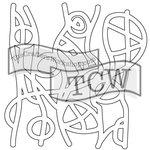 The Crafters Workshop - Rhonda Fragments - Doodling Template - Freeform Fragment