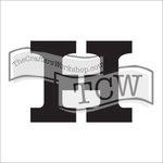 The Crafters Workshop - 6 x 6 Doodling Templates - Greek Alphabet - Eta