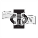 The Crafters Workshop - 6 x 6 Doodling Templates - Greek Alphabet - Phi