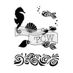 The Crafters Workshop - 6 x 9 Doodling Templates - The Sea