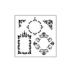 The Crafter's Workshop - 6 x 6 Doodling Templates - Mini Fancy Frames