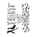 The Crafters Workshop - 6 x 9 Doodling Templates - Sing Unto