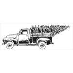 The Crafter's Workshop - Stencils - Vintage Truck