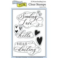 The Crafter's Workshop - Clear Photopolymer Stamps - Sending Love