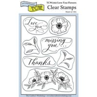 The Crafter's Workshop - Clear Photopolymer Stamps - Love You Flowers
