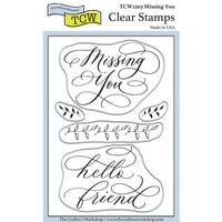 The Crafter's Workshop - Clear Photopolymer Stamps - Missing You
