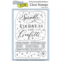 The Crafter's Workshop - Clear Photopolymer Stamps - Sprinkle Kindness