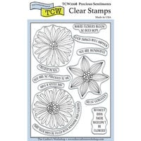 The Crafter's Workshop - Clear Photopolymer Stamps - Precious Sentiments