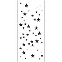 The Crafter's Workshop - Stencils - Slimline - Star Sparkle