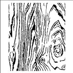 The Crafter's Workshop - 12 x 12 Doodling Templates - Wood Grain