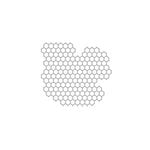 The Crafter's Workshop - 6 x 6 Doodling Templates - Mini Chicken Wire