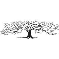 The Crafter's Workshop - Stencils - 16.5 x 6 - Family Tree