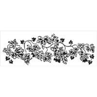 The Crafter's Workshop - Stencils - 16.5 x 6 - English Ivy